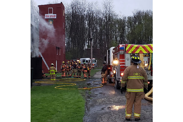 Training with East Main