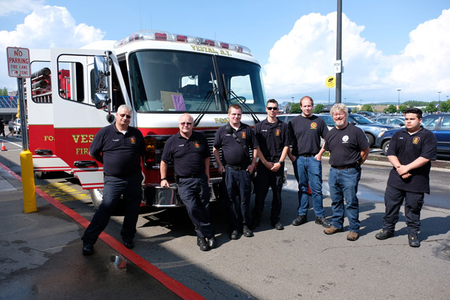 Vestal Fire Department joins Walmart for National Safety Month