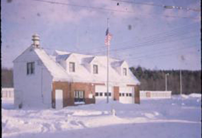 Ross Corners Fire Station about 1969